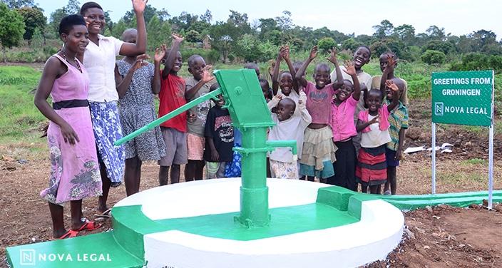 Nova Legal Voor Waterputten In Oeganda