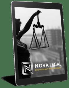 Nova Legal juristenkantoor - Whitepaper Ondernemen met personeel - Arbeidsrecht